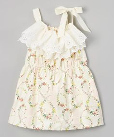 Yellow Floral Pillowcase Dress - Infant & Toddler