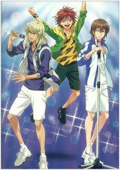 anime, the prince of tennis, shusuke fuji, higa, shitenhouji, seigaku, kintarou tooyama, rin hirakoba
