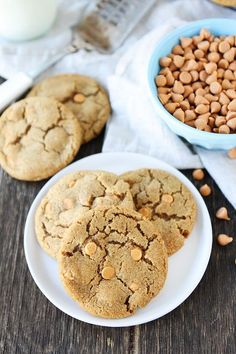Brown Sugar Butterscotch Cookies - Two Peas & Their Pod