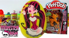 Huevo Sorpresa Gigante de Draculaura de Monster High de Plastilina Play ...