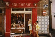 Saint-Tropez Boucherie (Slim Aarons Estate Print) 1
