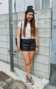 Leather-shorts-summer-Tokyo-Paris-New-York-23
