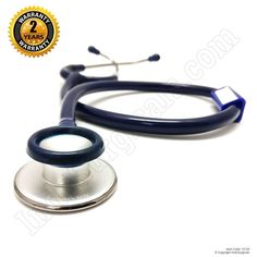 IndoSurgicals Silvery® Stethoscope for Doctor's and Medical students-Blue color #IndoSurgicals