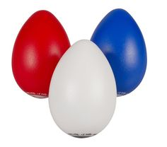 Latin Percussion LP016 Egg Shaker Trio | Set of 3 Egg Shakers