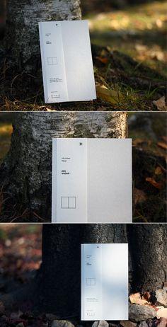 소재와 기능의 본질 백상점 [whitestore] essence of the materials and function. easy notebook large _ snow