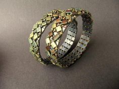 Tumbling Tiles Bracelet Tutorial   Craftsy