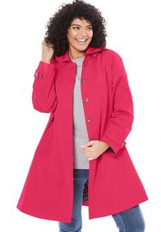 fc9667ecf9ed4 Womensknee Length Raincoat  RaincoatJackets Blue Raincoat
