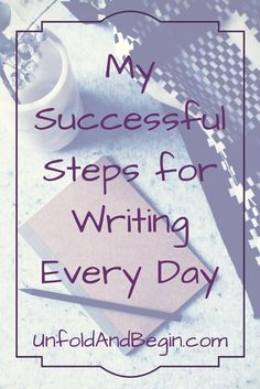 I thought I'd share my steps for writing every day (and yes, I write each day, except when I'm on vacation.)  We probably all have our own rituals, but sometimes struggle with finding how to go about capturing the words for finding the right place or the time.  I hope that by sharing how I write, it …