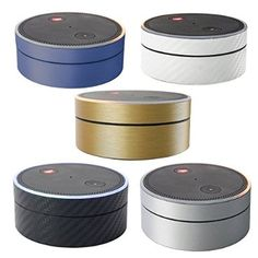 YutaoZ Premium Skin for Echo Dot- Add Style to Your Echo Dot- Easy to Install and Removal Without Sticky Residue (Accessory colors)
