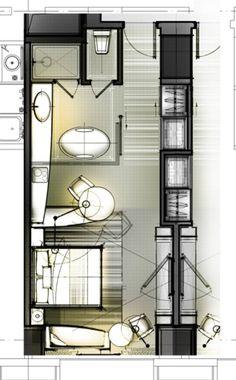 O cameră de hotel standard de 30 de tipuri de gândire (gândire designeri pentru a extinde, este recomandat de colectare)