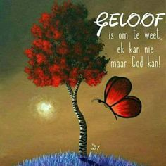 Geloof is om te weet ek kan nie maar God kan Inspirational Qoutes, Motivational Words, Prayer Book, Prayer Quotes, Wisdom Quotes, Bible Quotes, Uplifting Christian Quotes, Animated Emoticons, Afrikaanse Quotes