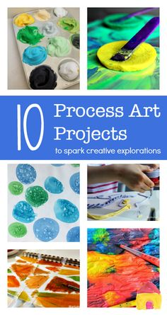 Creative process art projects for children