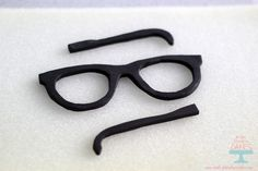 How to make gum paste glasses - Make Fabulous Cakes