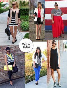 DIY FATSHION stripes, chevron, black and white, b, monochrome, bold pattern, plus size, what to wear, outfit ideas, diyfatshion, fatshion, plus size blogger