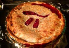 Strawberry pi pie
