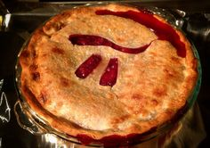 Strawberry pi pie