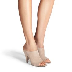 03ea452c3bef Kendra - Suede. Open Toe MulesSuede Sandals