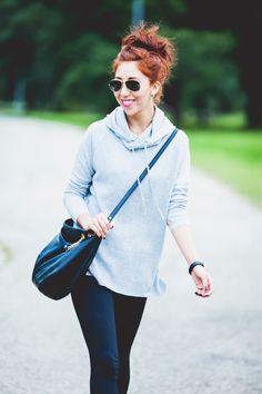 The Everygirl Fashion Essential: Black Leggings, 3 Ways #theeverygirl