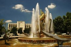 Present-day Braila -Romania Places Worth Visiting, Marina Bay Sands, Fountain, Waterfall, Beautiful Places, Country, Travel, Outdoor, Drinking
