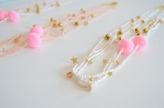Twiggy and Lou: Summer necklaces by Twiggy and Lou