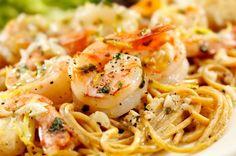 Delicious shrimp scampi recipe