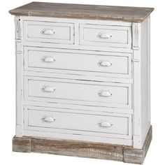 Country Style Chest of Drawers – Allissias Attic & Vintage French Style