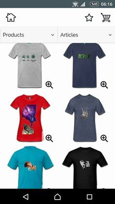 T-shirts, hoodies, tanks, accessories for stoners, ganjas, geeks and nerds. For U.S.: https://shop.spreadshirt.com/cocodesign?noCache=true http://skreened.com/cocodesign For U.K.: http://www.cafepress.co.uk/cocodesign1