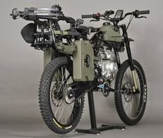 Coolest Motoped EVER! This is a must have. I must have one. Looks like it was built with me in mind.