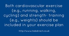 Cardio and strength training rules!