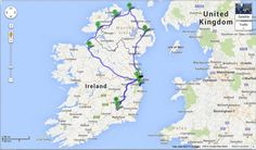 11 day Ireland and Northern Ireland Itinerary