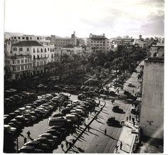 ساحة الشهداء – وسط بيروت عام 1953-Beirut
