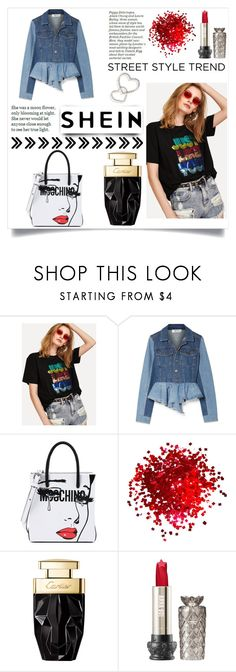 """shein contest"" by telefon34 ❤ liked on Polyvore featuring Sea, New York and Moschino"