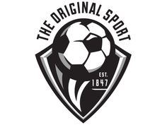 Soccer logo 2 designed by Lindsey Kellis Meredith. Soccer Pro, Soccer Memes, Soccer Coaching, Rush Soccer, Soccer Jerseys, Soccer Cleats, Soccer Ball, Soccer Trainer, Soccer Accessories