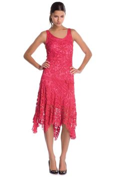 cherry+red+irish+crochet+dress.jpg 1,067×1,600 píxeles