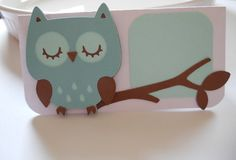 Owl Place Cards