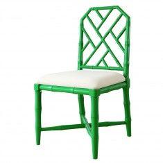 Jardin Side Chair in Emerald Green