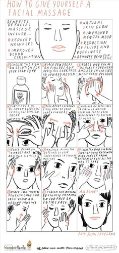Rejuvenate Your Face: How to Give Yourself a Facial Massage for Natural Glowing Skin « The Secret Yumiverse