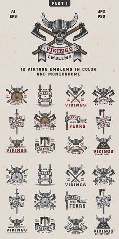 Tool Design, Vikings, Monochrome, Behance, Feelings, Vintage, Color, Instagram, The Vikings