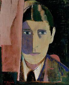 Otto Mäkilä (Finland 1904-1955), Omakuva, oil/canvas, 1933. Collection Kansallisgalleria (Finnish National Gallery), Helsinki.