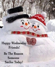In the meadow we could build a snowman ~ woman Happy Wednesday Quotes, Happy Tuesday, Happy Day, Wednesday Greetings, Christmas Quotes, Christmas Greetings, Christmas Cards, Good Morning Christmas, Christmas And New Year