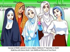 if a woman wants to cover her head, fine. If a woman is FORCED to cover her head, that's not fine! a woman certainly should NOT be judged for covering her head!