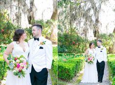 Dana Cubbage Weddings | Charleston SC Wedding Photography | Liz + Thomas // Romantic Garden Wedding at Magnolia Plantation