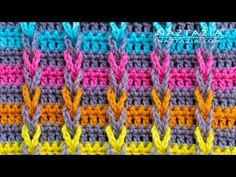 Crochet Back Scrubbie - How to Crochet Jacob's Ladder Stitch - Chain Loop Braids by Naztazia Gilet Crochet, Crochet Ripple, Tunisian Crochet, Free Crochet, Flower Crochet, Blanket Crochet, Single Crochet Stitch, Double Crochet, Crochet Stitches Patterns