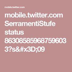 mobile.twitter.com SerramentiStufe status 863085859687596033?s=09