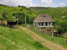 "Traditional houses in rural Romania (case traditionale romanesti) *** Upon arriving in her new home country in the young wife of Prince Carl of Romania noticed in her writings: ""Every R… Beautiful Home Designs, Beautiful Homes, Romania People, Rural House, Bucharest Romania, Village Houses, The Beautiful Country, Beach Trip, Beach Travel"