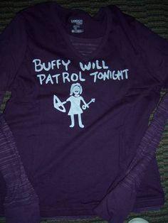Buffy tee