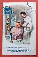 CPA. Donald MAC GILL. Coiffeur. Gugusse. Enfants. Humour. Comique N°2125. 1920.