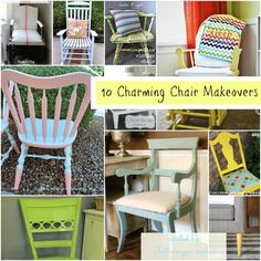 10 Charming Chair Makeovers