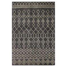 Bashian Rugs Ashland Charcoal Area Rug Rug Size: