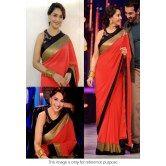 madhuri-jhalak-liril-bollywood-replica-saree-red